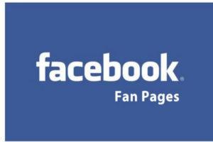 criar fan page