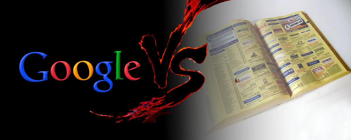 Google vs Páginas Amarelas